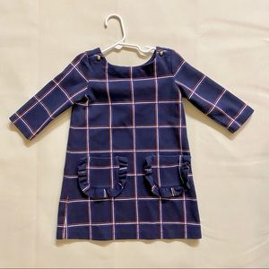 Janie and jack toddler navy dress